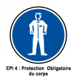 EPI4 Protection obligatoire du corps