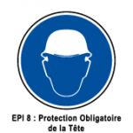 EPI8 Protection obligatoire de la tete
