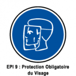 EPI9 Protection obligatoire du visage